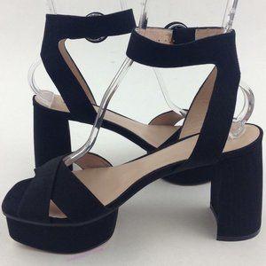 STUART WEITZMAN Carmina Ankle Strap  Sandals sz 9